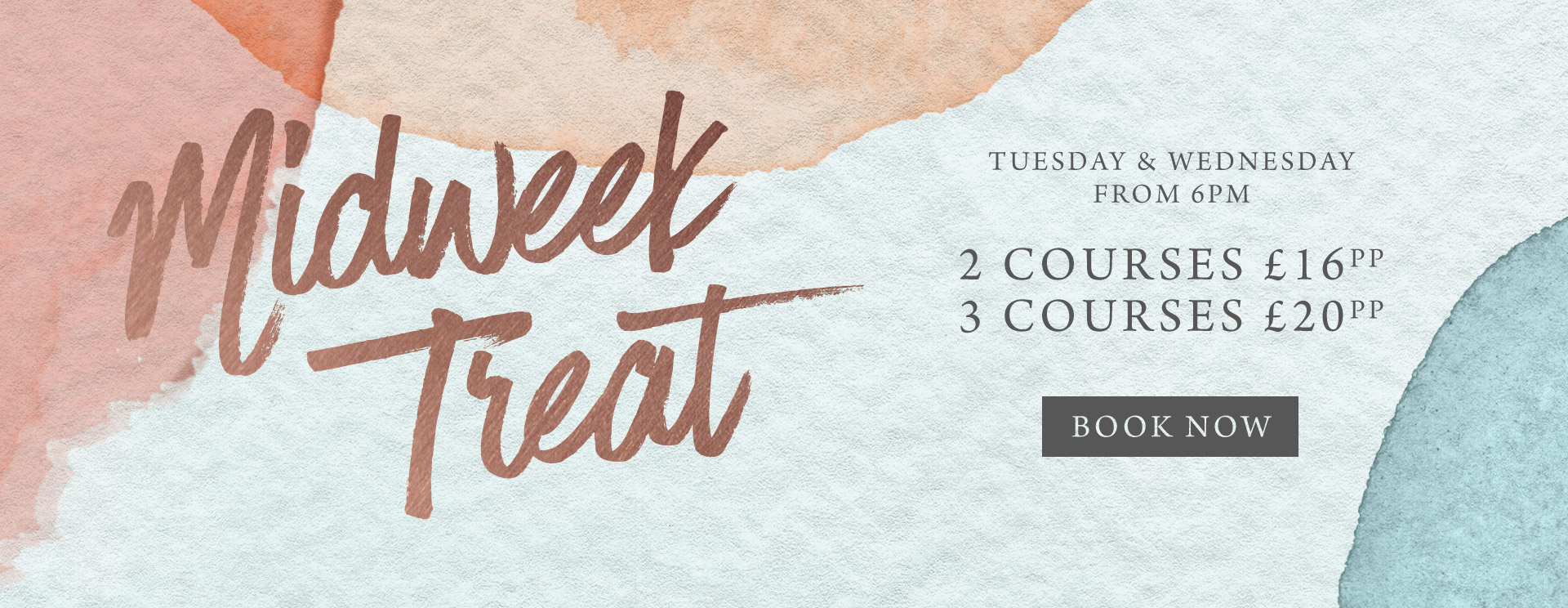 Midweek treat at The Bell Inn - Book now